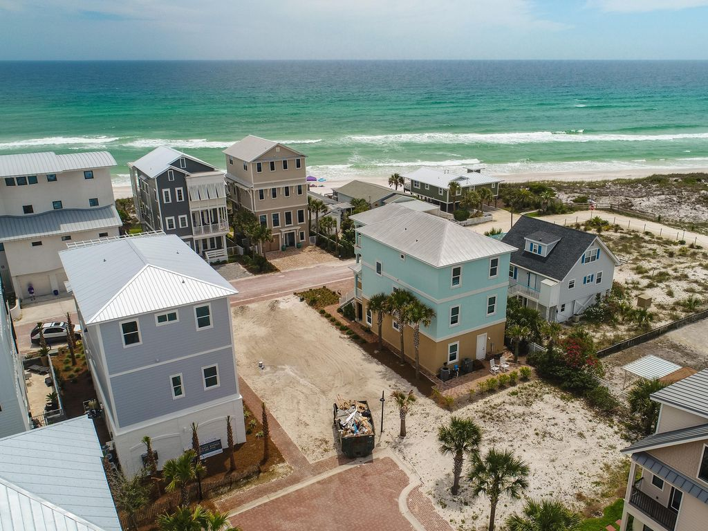 New construction steps to beach 39 beach smi vrbo for New house construction steps
