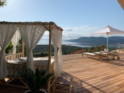 Photo for AIR-CONDITIONED VILLA PRIVATE DOMAIN WITH SEA VIEW 180 ° HEATED POOL