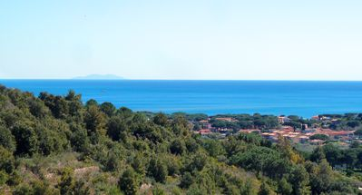 Photo for apartment in villa surrounded by nature with sea view, suitable for families
