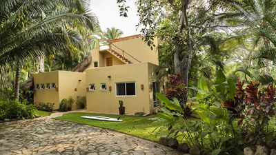 Photo for Casa Contenta, 3BR 3BA Surf Retreat with Fantastic Gardens and Pool