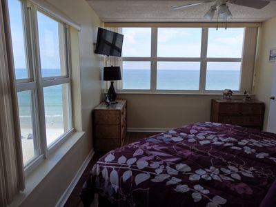Photo for Direct ocean front North corner unit 601 Southpoint 2b/2ba /6th floor/wifi