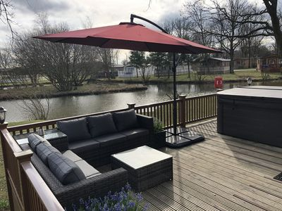 Photo for Luxury Hot Tub Holiday Lodge - 15 Minutes From York City Centre
