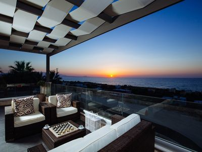 Photo for Seaview Villa with Private Heated Seaview Pool & Hammam 800m from beach & shops