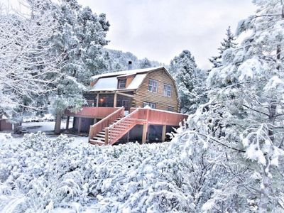Photo for Lincoln Log Cabin - 90 Minutes From LA