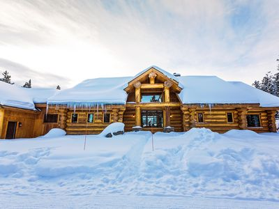 Photo for Lone Mountain View Log Home in Big Sky, Montana