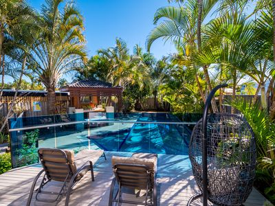 Photo for Spacious home - Pool, pet-friendly, close to beach, restaurants, bars, transport