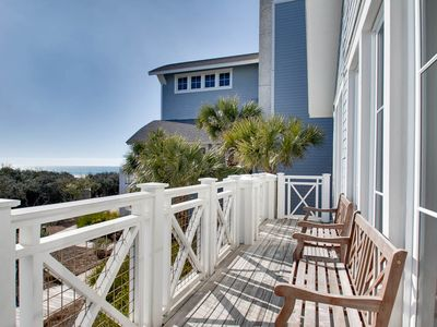 Photo for BOOK NOW FOR SPRING BREAK AND SUMMER 2019 * Spacious, Gulf Views * 110B WaterSound Crossings * Steps to Beach, Pool and Beach Club