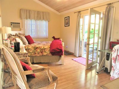 Photo for Guest Unit with Private Yard at Celebrity Pool Tennis Court Estate