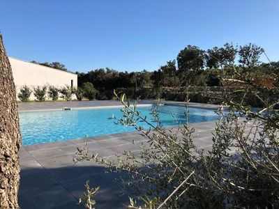 Photo for Villa T3 U Alivu, maquis, piscine