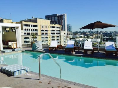 Photo for 5 Minute Walk To Gaslamp/Convention Center Modrn 2BR Condo!