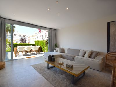 Photo for New beachfront holiday home in bahia de marbella
