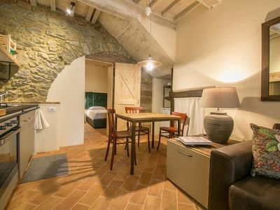 Photo for City / Village Apartment in Cortona with 1 bedrooms sleeps 2