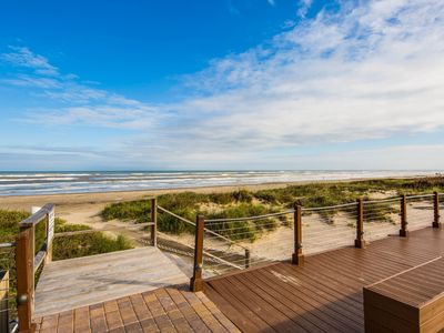 Photo for Beachfront dog-friendly condo w/ shared hot tubs and swimming pools