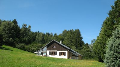 Photo for Summer rental, house in Vercors, Gite chalet mountain atmosphere, calm and view.
