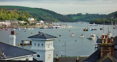 Photo for NEW LISTING Morocco House, amazing views across river Dart. Stunning location.