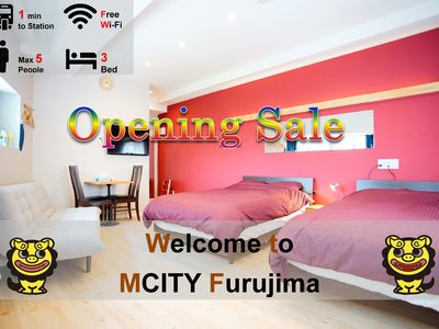 Photo for Furushima 201 · ★ OpenSale ★ Mcity Furujima # 201 ★ 1 minute walk from Furushima Station ★ wifi ★ Naha city ★ permission Yes