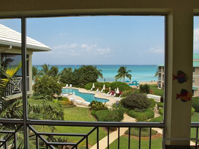 Photo for What a View!--Enjoy this Luxury Condominium Located Right on Seven Mile Beach