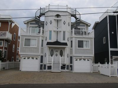 Photo for LBI BEACH HOUSE - 1 off the ocean, beautiful ocean views