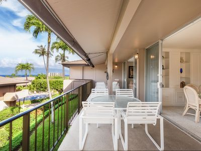 Photo for Maui Westside Properties - MAUI ELDORADO D200 - LIGHT & BRIGHT CORNER 2 BEDROOM!