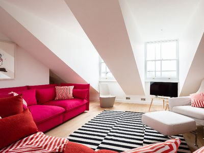 Photo for The Lansdowne Crescent - Bright 3BDR Top Floor Apartment in Notting Hill