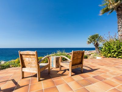 Photo for A villa right on the coast in Cap D'en Font, Menorca