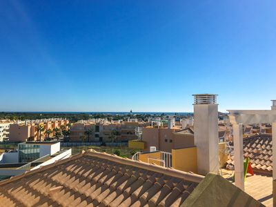 Photo for Beautiful Two-Bedroom Penthouse Apartment in Cabanas Area