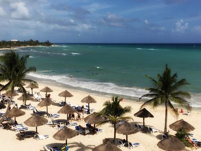 Photo for Stay at a beautiful beachfront resort, full ocean-view villa, Christmas week!