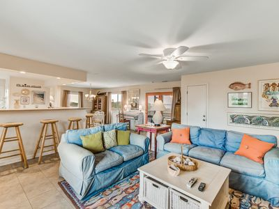 Photo for Dog-friendly Folly Beach home across the street from the beach + close to shops!