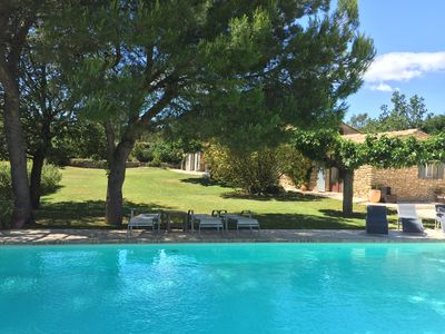 Photo for Exquisite Provencal Home, Incredible Views and Heated Pool