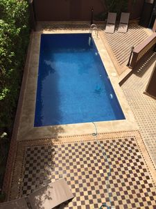 Photo for Superb villa in Marrakech with swimming pool not overlooked private and free wifi.