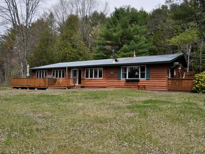 Photo for Spacious Cabin, Just South of Schroon Lake on the Gorgeous Schroon River!