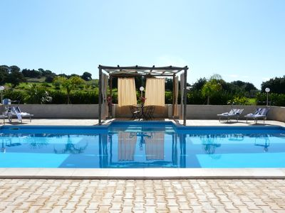 Photo for Country villa with two heated pools, tennis and private park