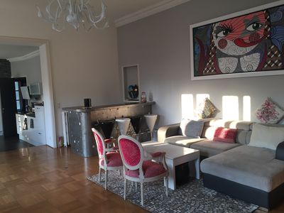Photo for HAUSSMANN APARTMENT VERY WELL RENOVE COEUR DE BEZIERS