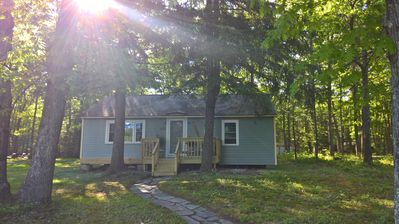Photo for Twin Pines Cottage, a cozy and relaxed vaction awaits