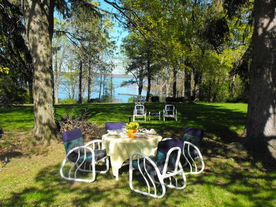 Photo for Romantic Seneca Lake Wine Trail Getaway/Hot Tub/Pet Friendly