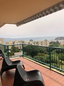Photo for Apartment (91m2) residential sea view, ideal family or couples of friends.