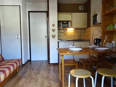 Photo for Apartment Bourg-Saint-Maurice, studio flat, 2 persons
