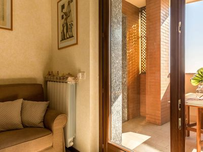 Photo for Santarosa  apartment in Centro Storico with WiFi, air conditioning, balcony & lift.