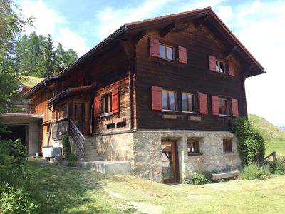 Photo for Classic Swiss Farm House Nestled in Traditional Farming Hamlet - 1500 metres