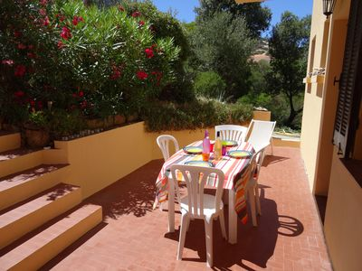 Photo for Calvi - Charming 2 rooms with garden and two terraces - double exposure