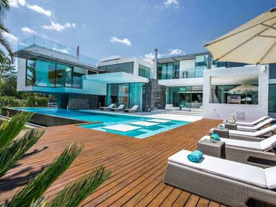 Photo for This spectacular modern property is designed by a renowned Portuguese architect to the most exacting