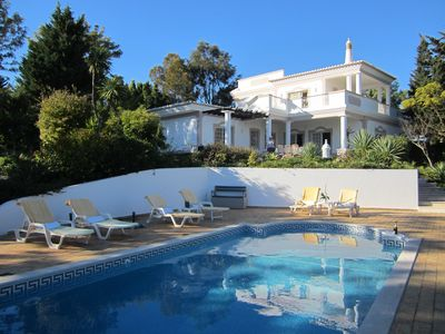 Photo for Villa With Private Pool, direct access to Golf, Seaviews, 5 min walk from Beach