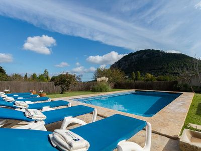 Photo for Nice villa on the outskirts of Pollenca to 6 people with a stunning view