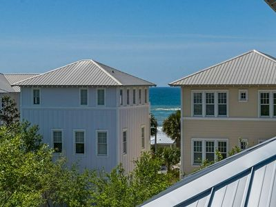 Photo for Beautiful 30A Beach Home-Steps to PRIVATE Beach Access-Gulf Views-2 Community Pools (1 Heated)