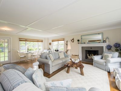 Photo for Reduced rate-September No crowds! East Hampton Village! Heated Gunite Pool!
