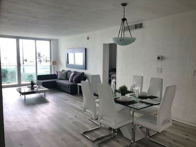 Photo for Miami Hollywood Condo With Pool and Ocean View