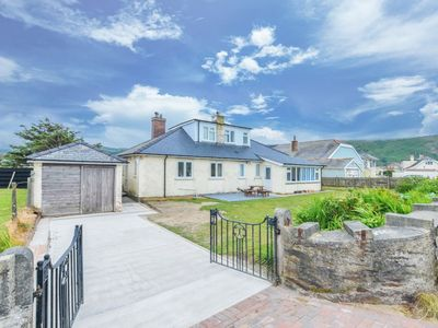 Photo for Spacious Fairbourne Family Cottage with Sea Views, Sleeps 10 in 5 bedrooms