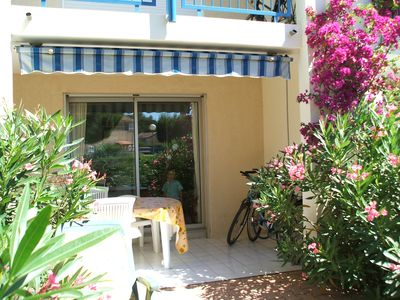 Photo for A 2 rooms in Le Lavandou 5 minutes walk from the beach in a quiet residence
