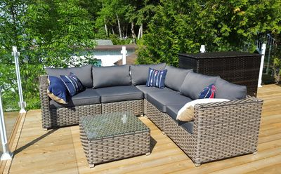 Photo for Fully renovated on HGTV Canada with a gorgeous boathouse deck