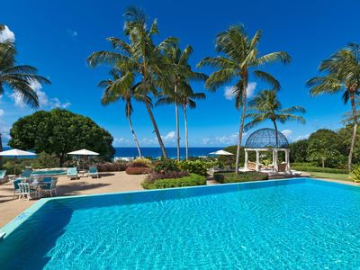 Photo for *EAT FOR FREE* Mesmerizing Ocean Views, Beach Club, Cook/Butler Service, AC, Free Wifi, Huge Pool